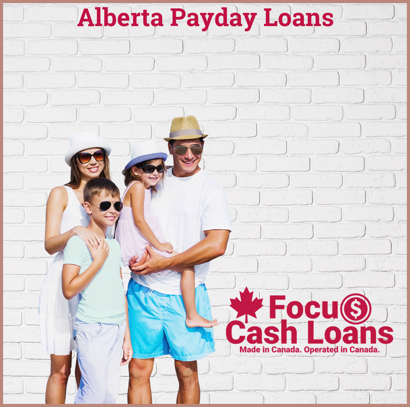 Picture of family that got Instant Payday Loans