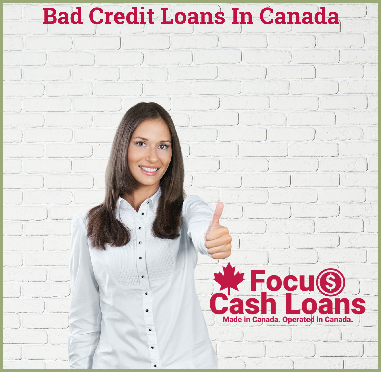 Picture of employee that got Payday Cash Advance Loan