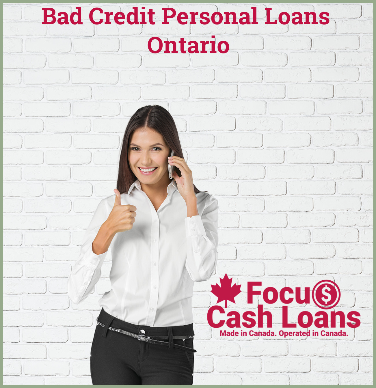 Picture of employee that got Bad Credit Loan In Ontario