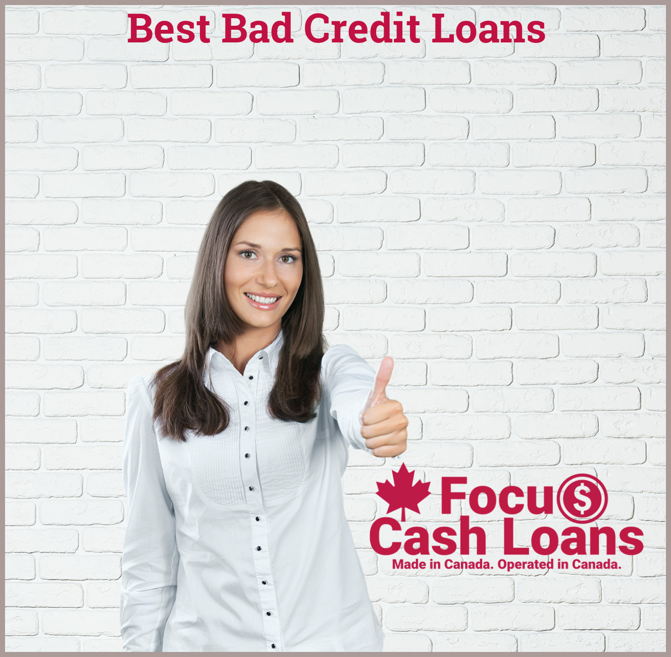 Internet loans for people with bad credit are easier to access as long as you have the internet and you know where to look.