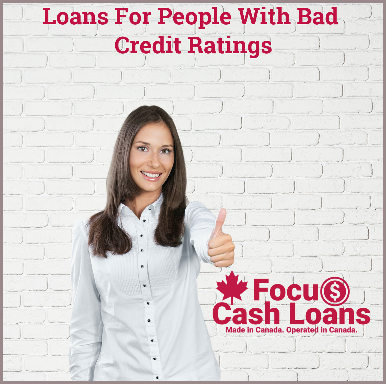 Picture of family that got Loans for People with Very Bad Credit - No Faxing Required!