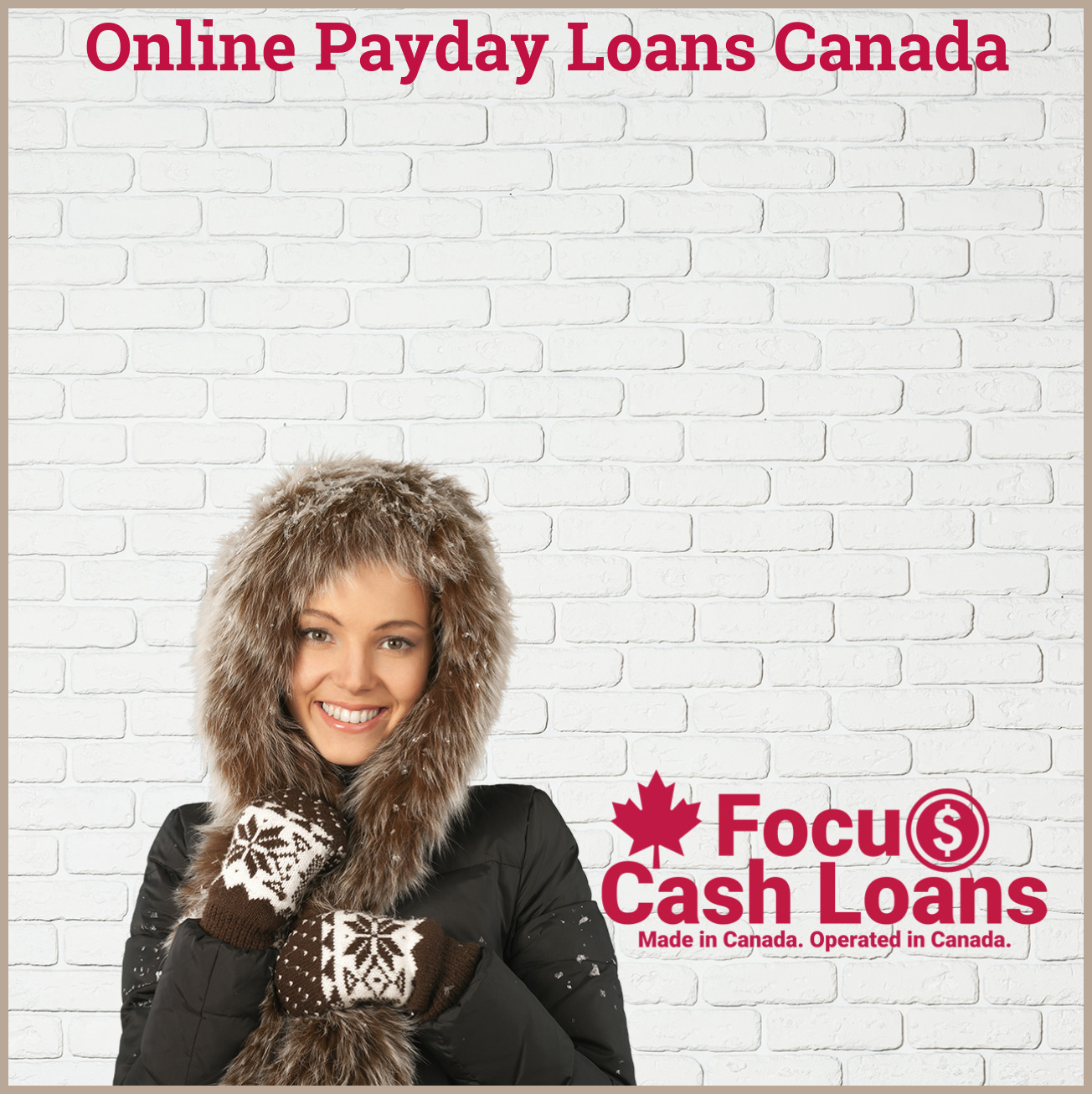 Picture of family that got Online Payday Loans Canada