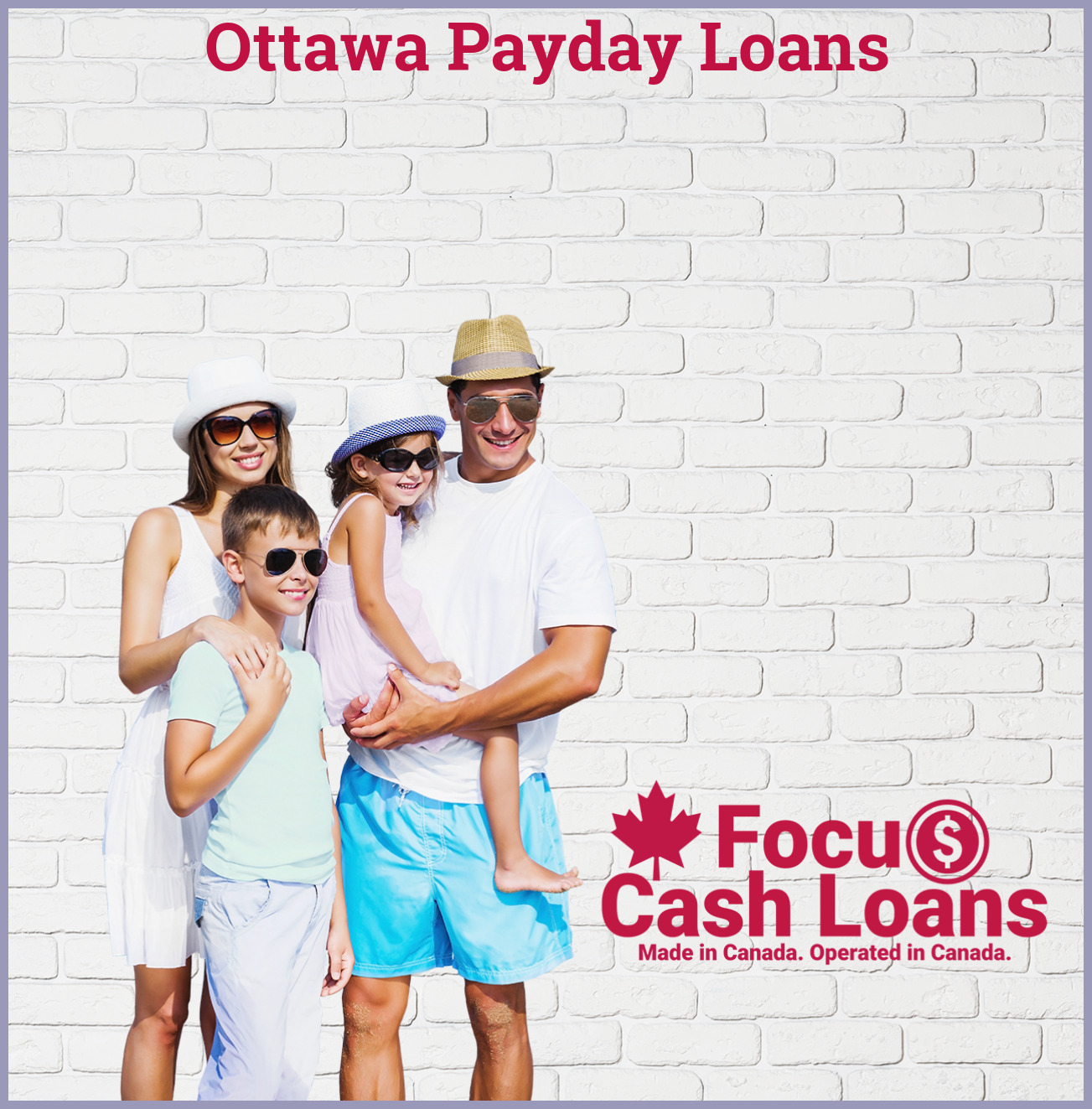 Picture of family that got Payday Loan Online