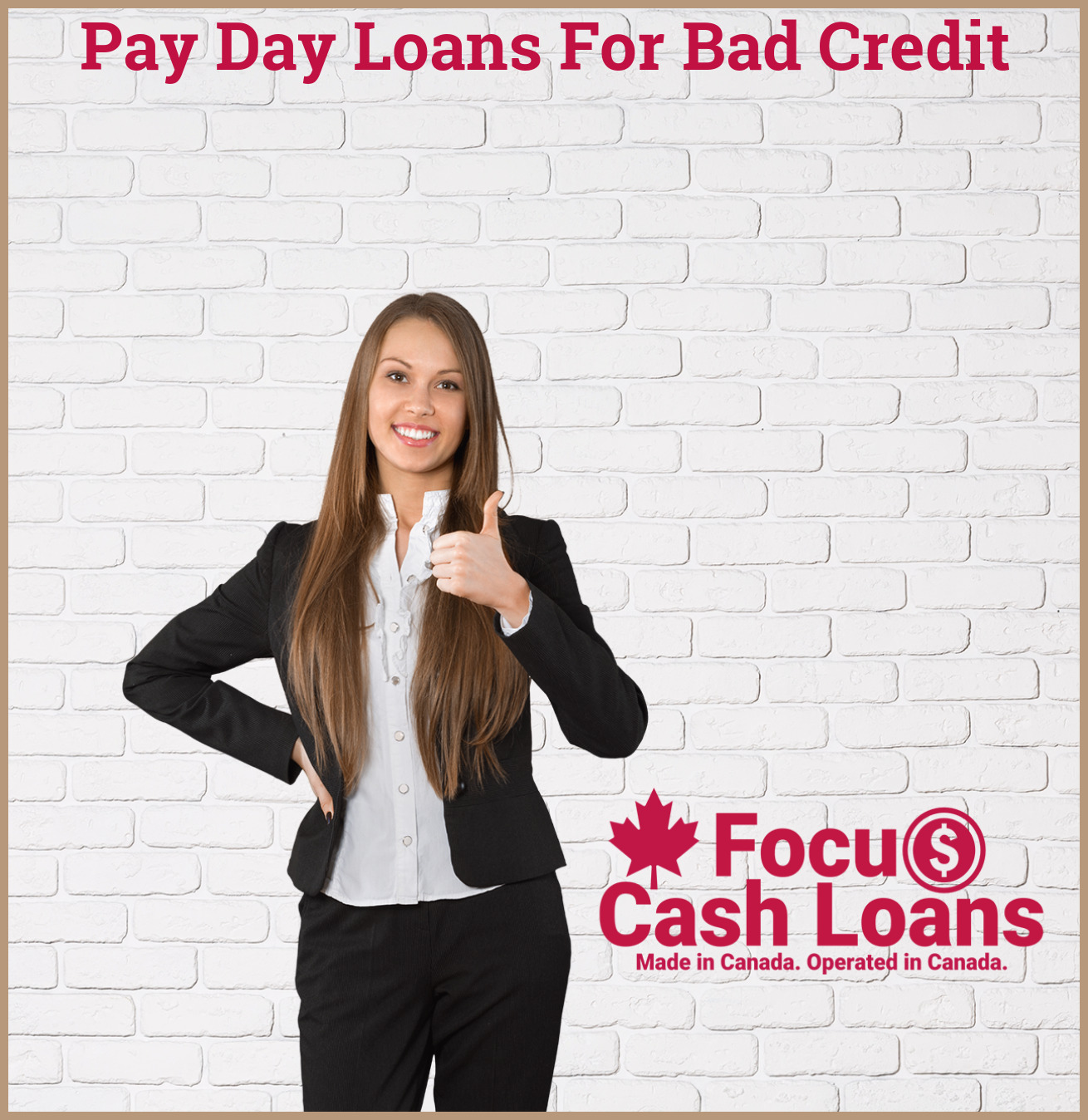 Picture of employee that got Personal Loan With Bad Credit - Borrow up to $1500 NOW!