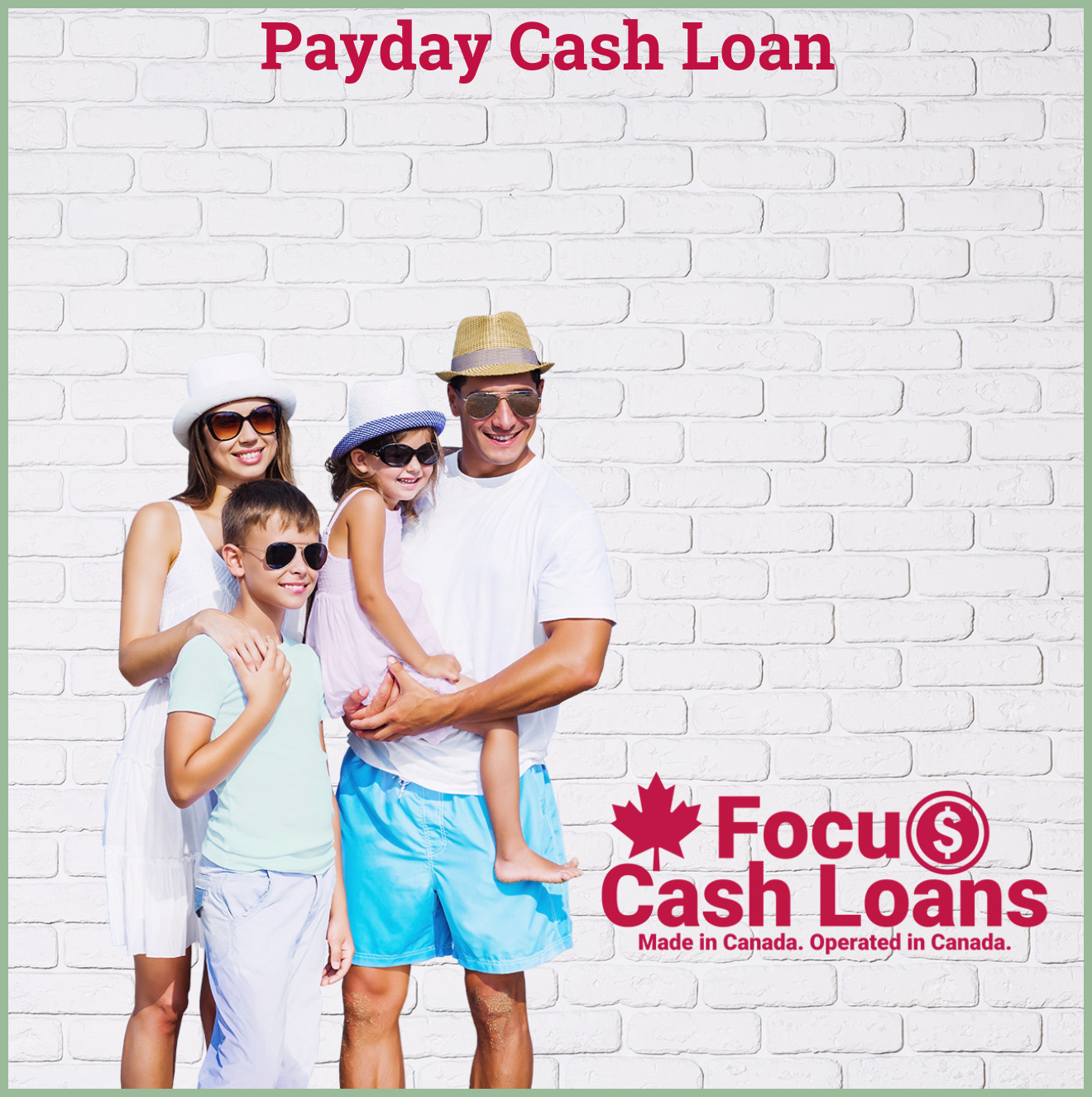 Picture of family that got Online Payday Loans Edmonton