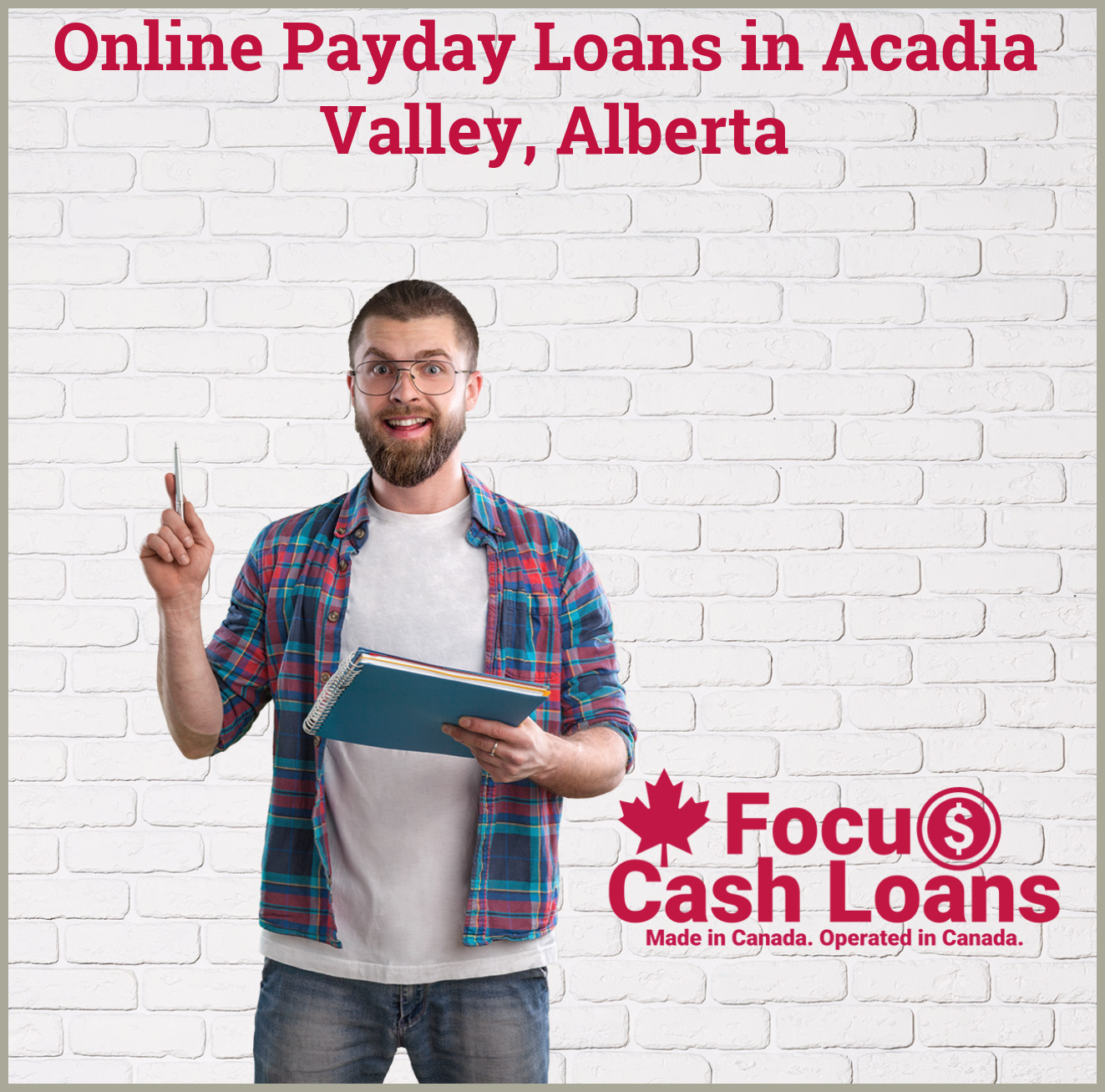 Picture of family that got Payday Loans Calgary