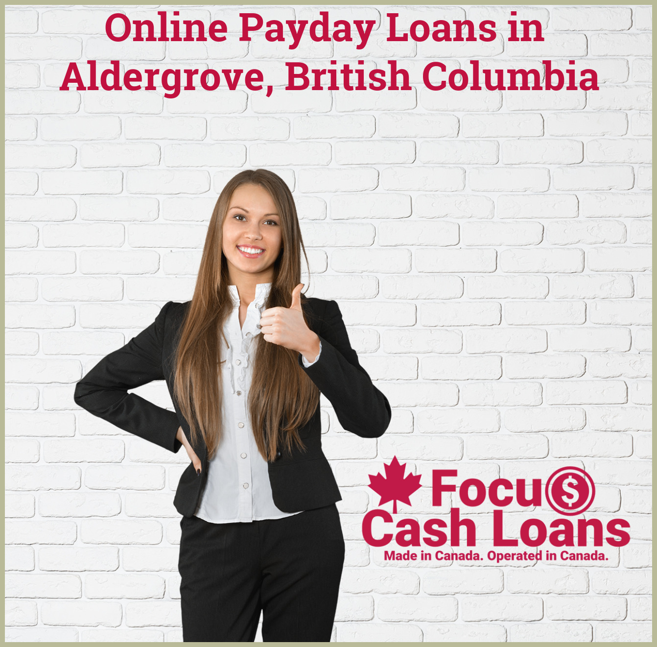 Picture of family that got Ontario Payday Loans