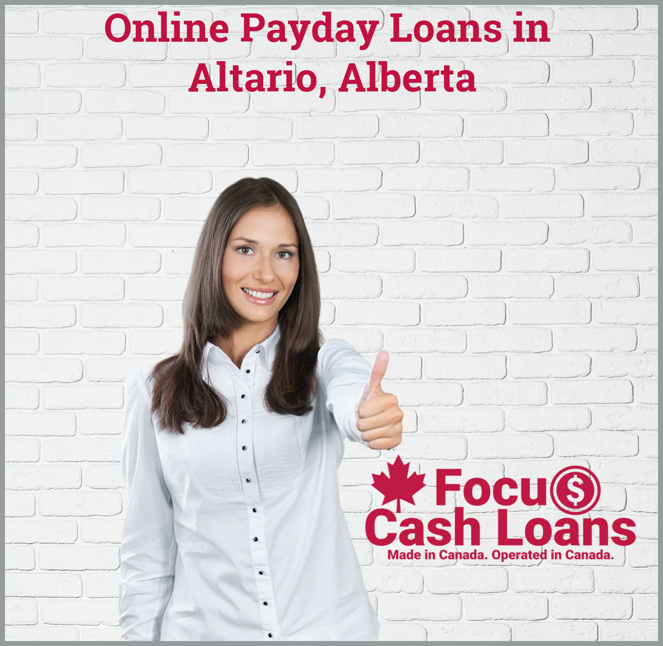 Picture of employee that got Cash Advance Payday Loan